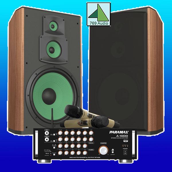 bộ dàn karaoke paramax cbz 2000