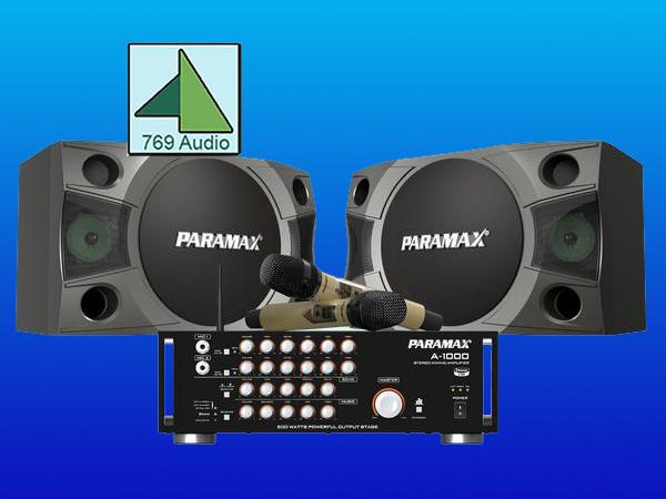 bộ dàn karaoke paramax giá rẻ