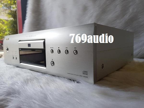 mặt trái cd denon 1650ae