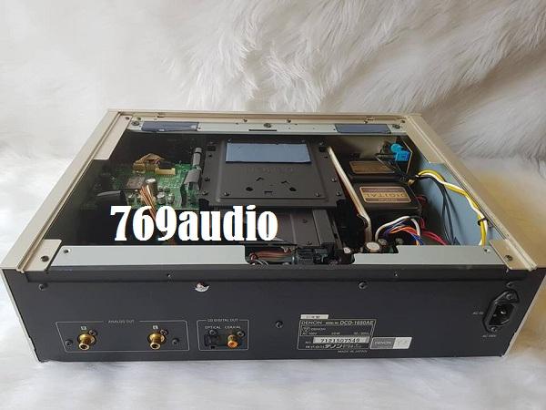 mặt sau cd denon 1650ae