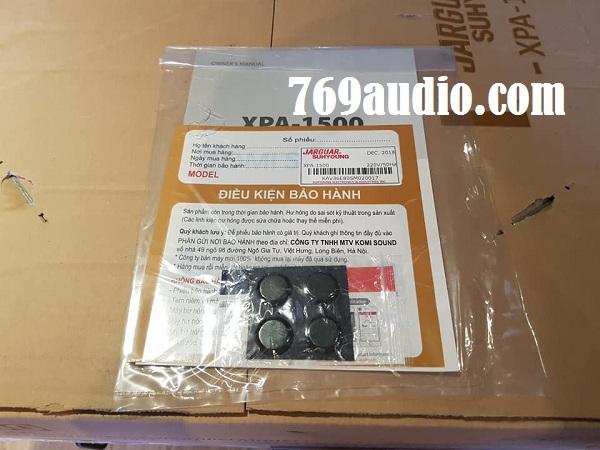 Cục đẩy Jarguar Suhyoung XPA 1500