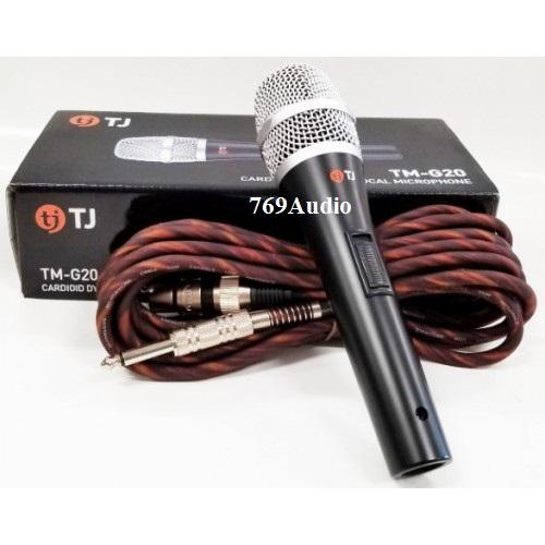 giá micro có dây tj tm-g20