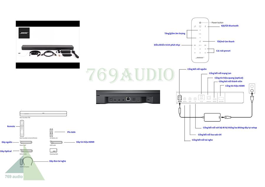 loa thanh soundbar 700