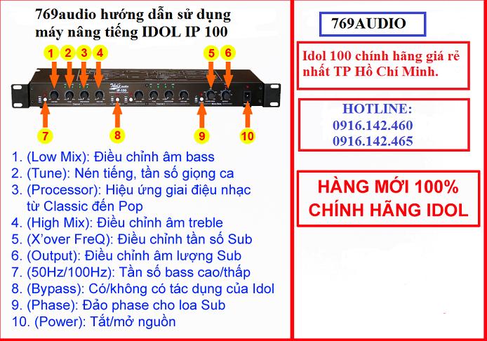 Cách kết nối IDOL IP 100