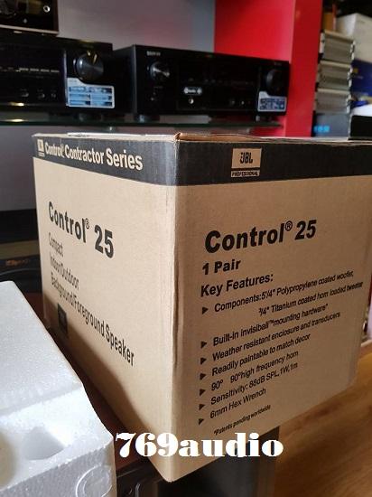 hộp JBL Control 25