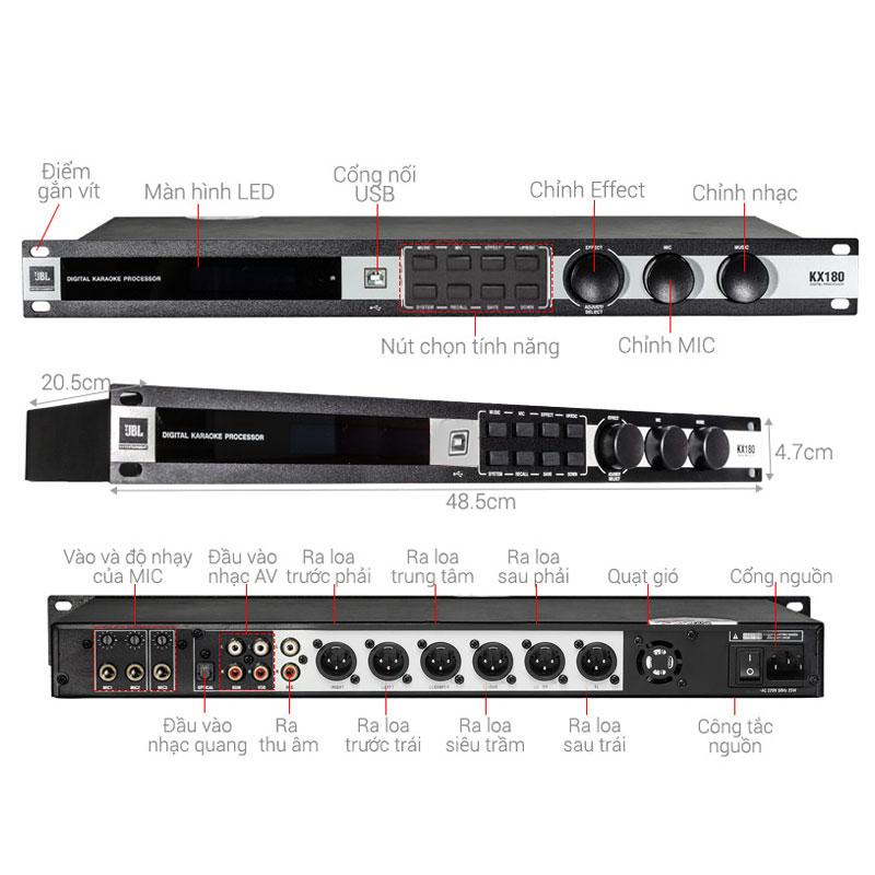 mixer jbl kx 180