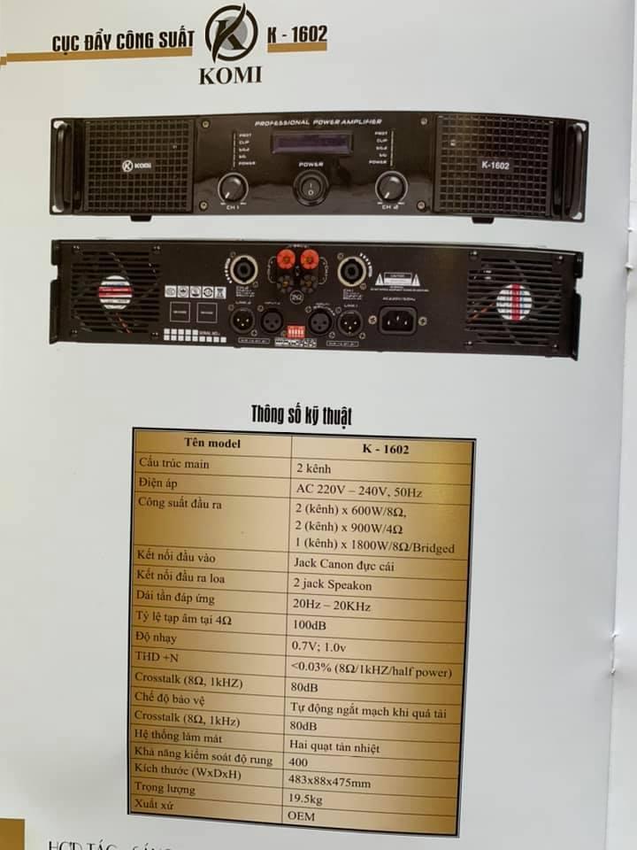 komi k1602