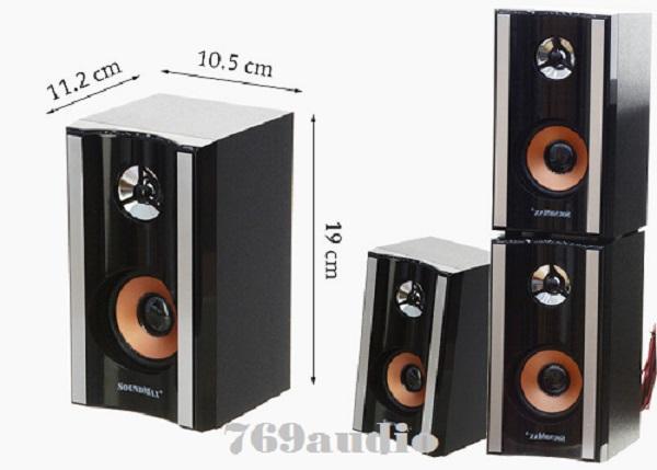 Loa VI tính soundmax A8900