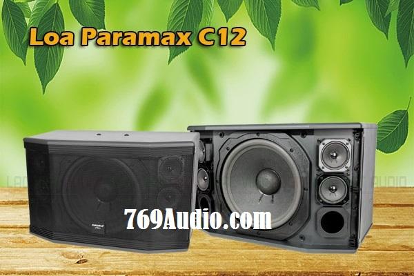 loa paramax c12