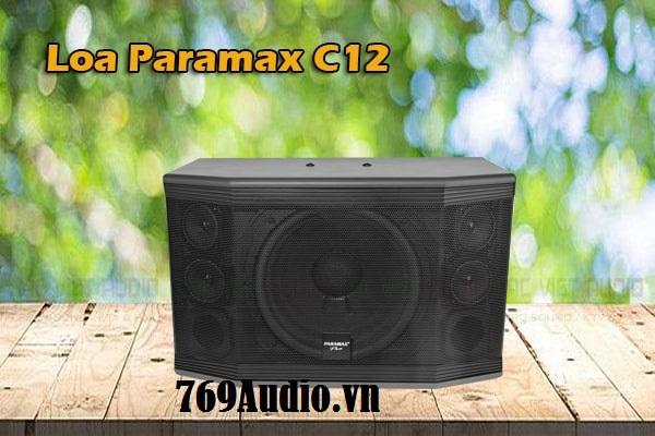 hình ảnh loa paramax c12