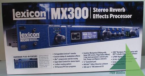 Thùng efect Lexicon MX 300