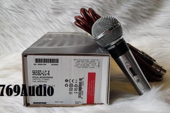 Micro có dây Shure 565SD chính hãng