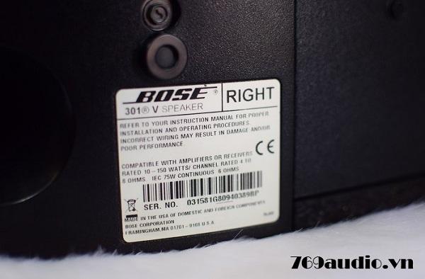Loa Bose 301 series IV (MEXICO)