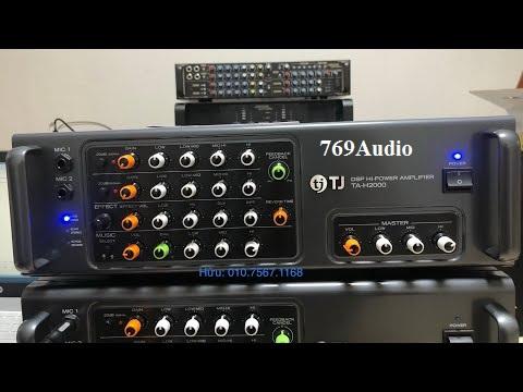 Ampli TJ TA H2000 tai tphcm