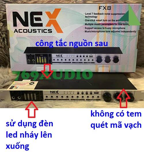 vang cơ nex fx8