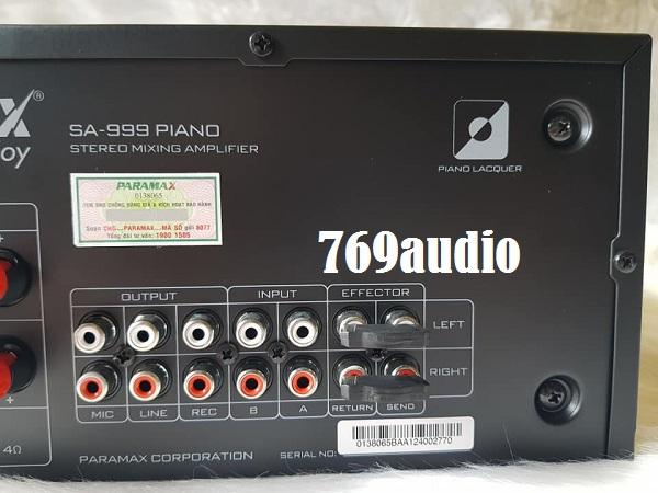 mặt sau paramax 999
