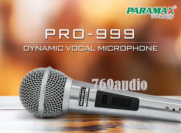 Micro Paramax PRO 999 NEW