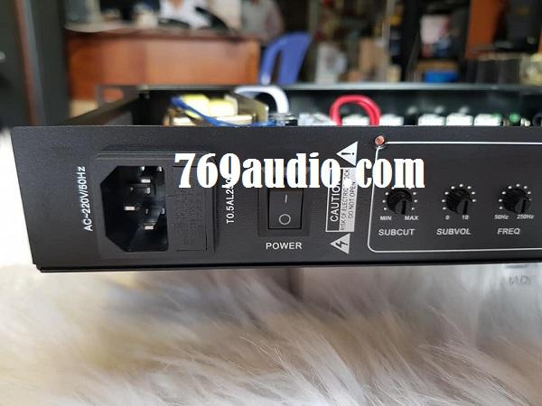 mặt sau  mixer PS S500
