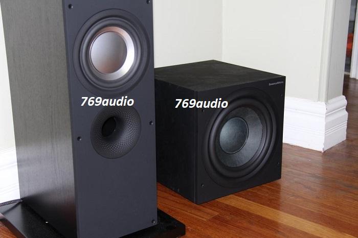 so sánh LOA SUB B&W ASW 610 VỚI SUB HTM62