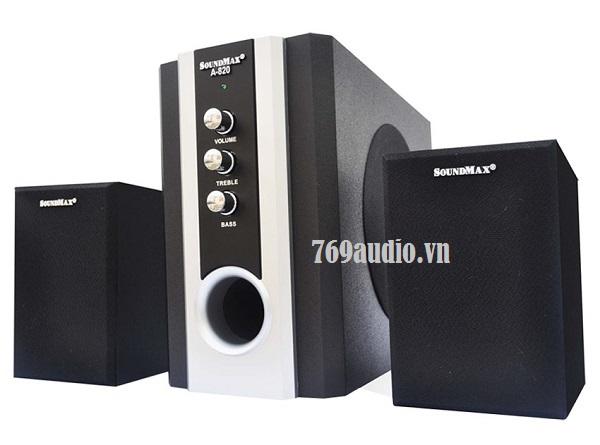 mặt trước vi tính soundmax 820