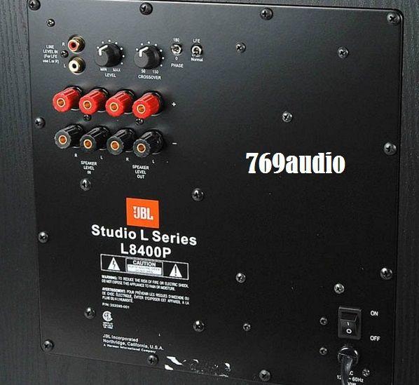 Mặt sau JBL L8400 P