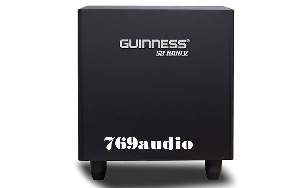 Mặt trước loa Sub Guinness 1800V