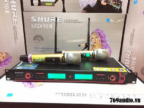 Micro Shure UGX 10II