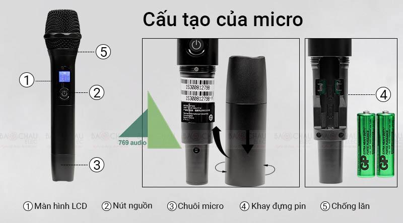 micro jbl vm 300