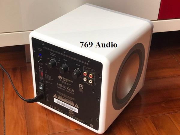 Loa Cambridge Audio Minx X201 hàng chính hãng ở đâu bán