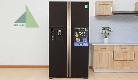Tủ lạnh Hitachi 4 cánh mặt kính