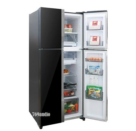 Tủ lạnh Panasonic mặt kính gương